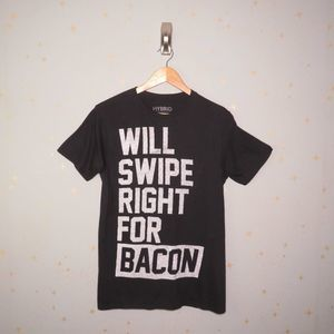 Hybrid | Mens Tinder Bacon T-Shirt